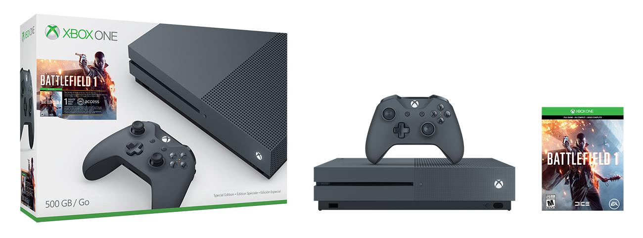 Bundl Xboxu One S s Battlefieldem 1 130561