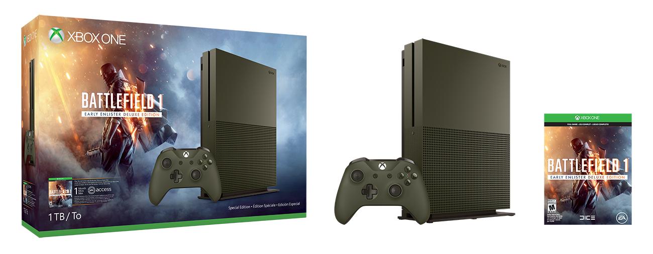 Bundl Xboxu One S s Battlefieldem 1 130562