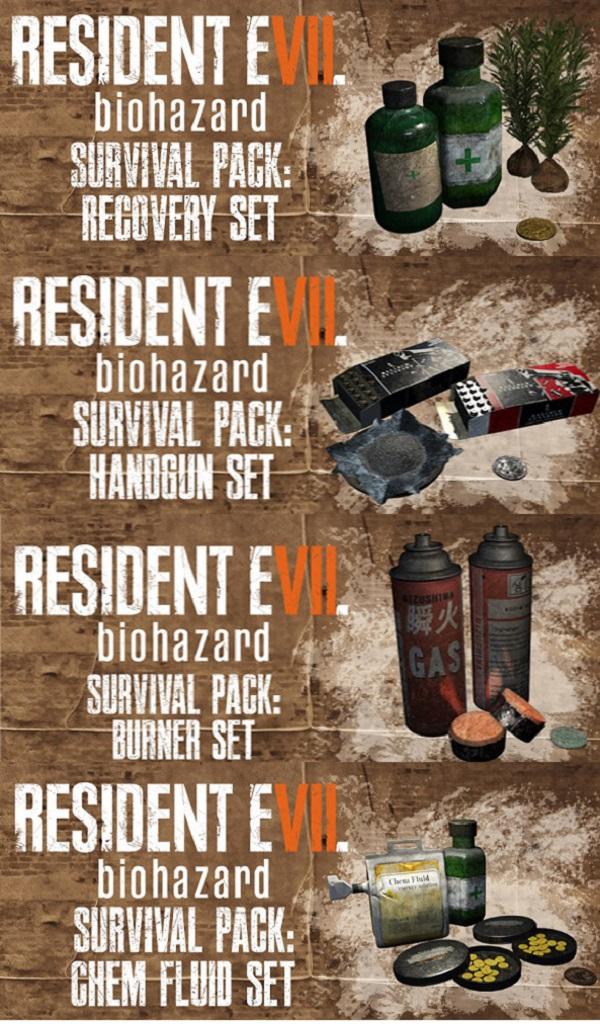 Za předobjednání nového Resident Evilu dostanete několik in-game předmětů 130563