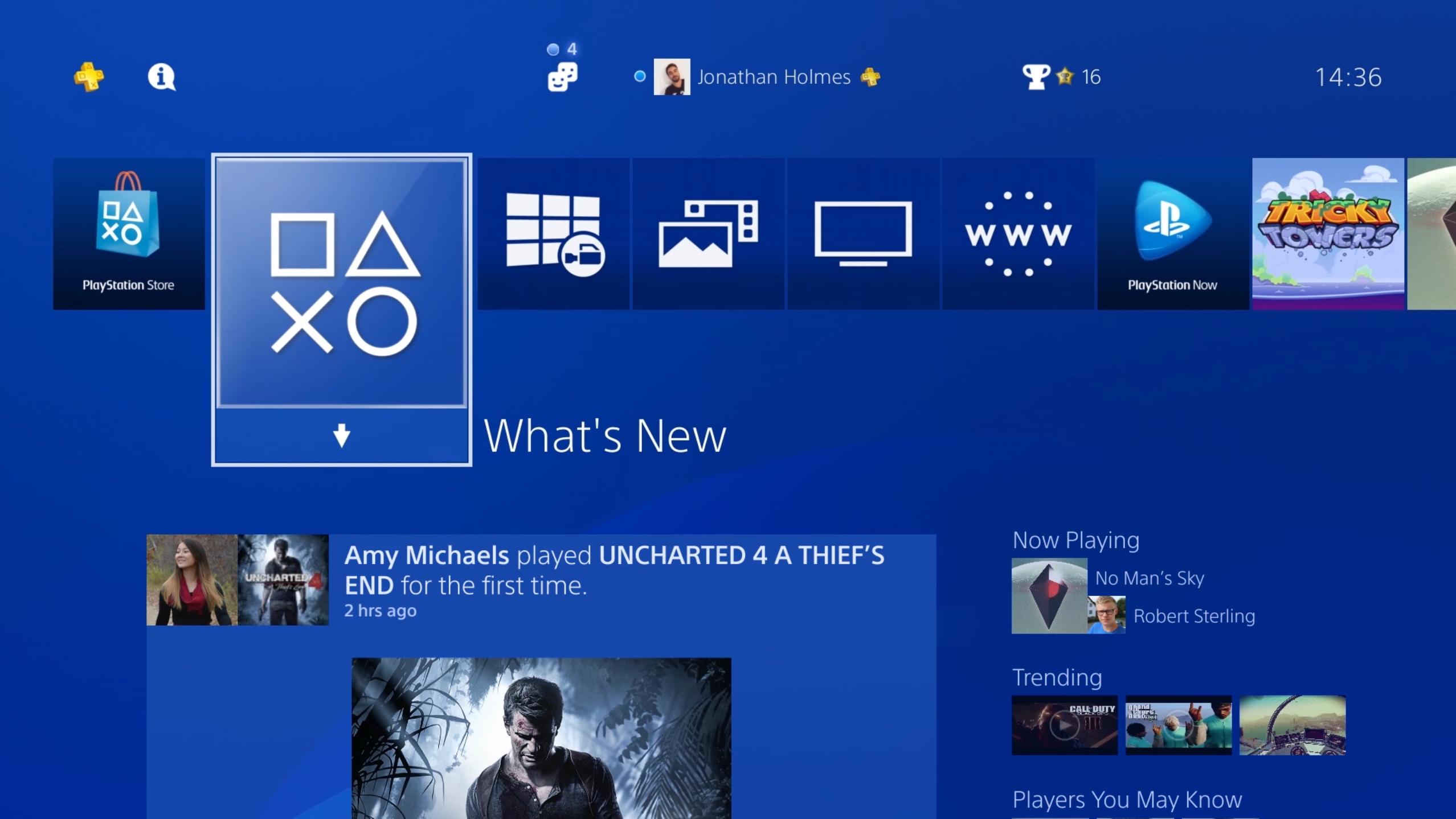 Už zítra vyjde 4.00 update PS4 130571