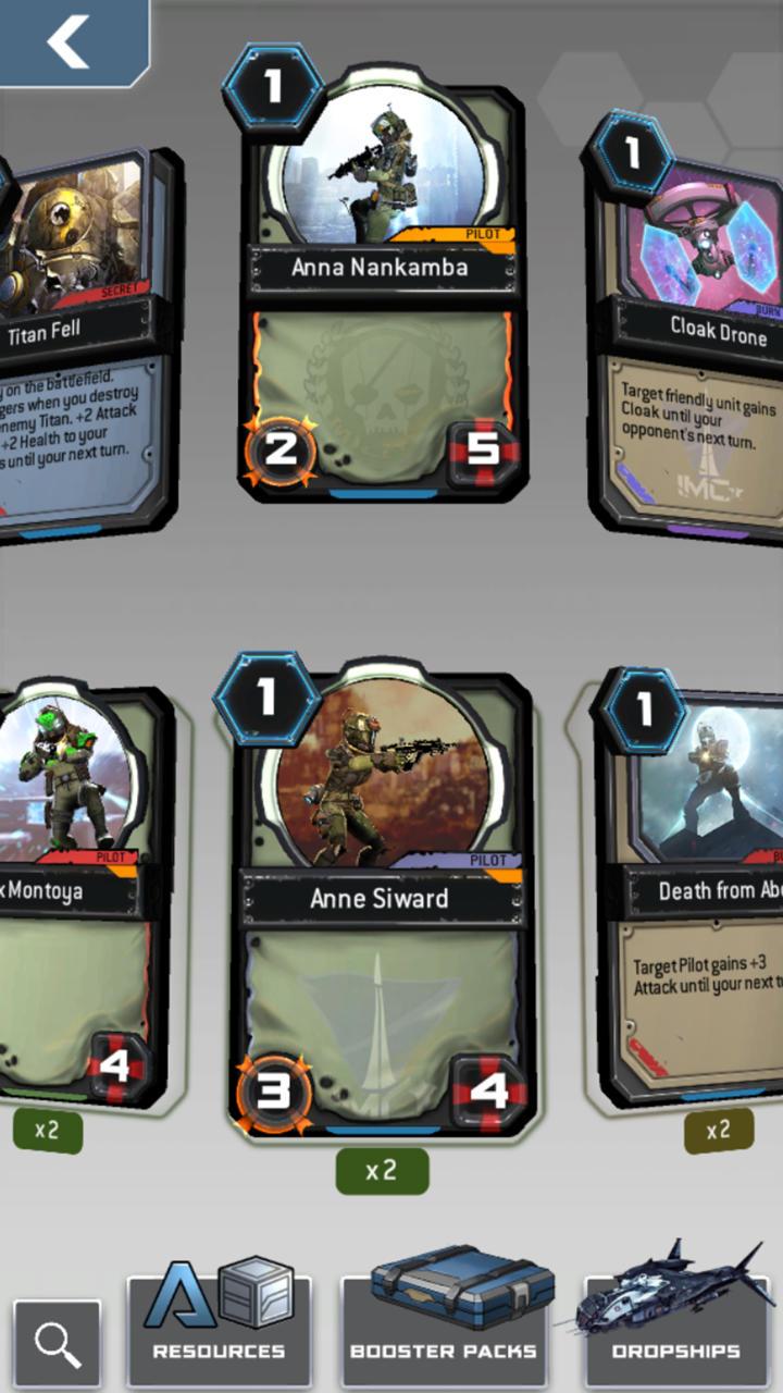 Titanfall: Frontline je karetní hra pro iOS a Android 130588