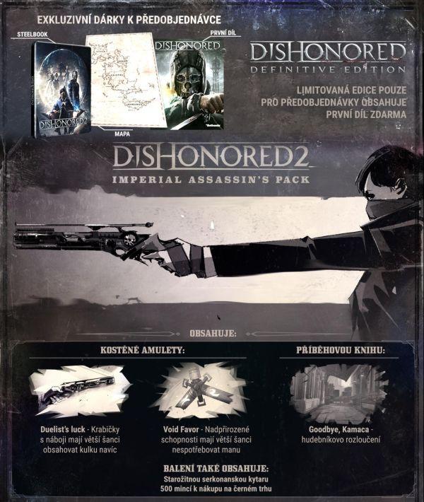 Steelbook a mapa herních ostrovů k Dishonored 2 130595