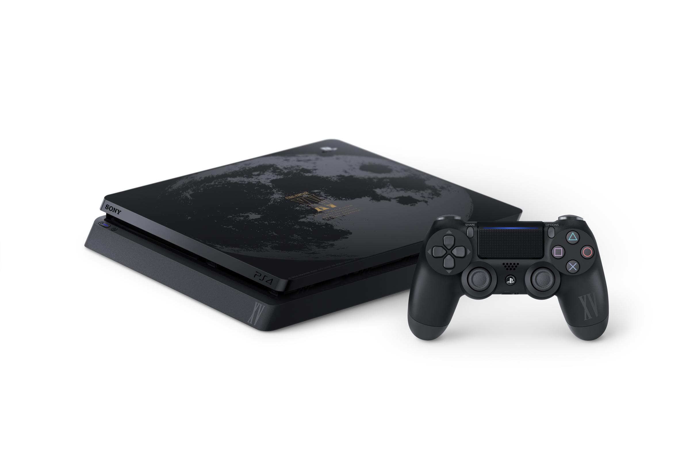 Limitovaná PS4 Slim v designu Final Fantasy XV 130599