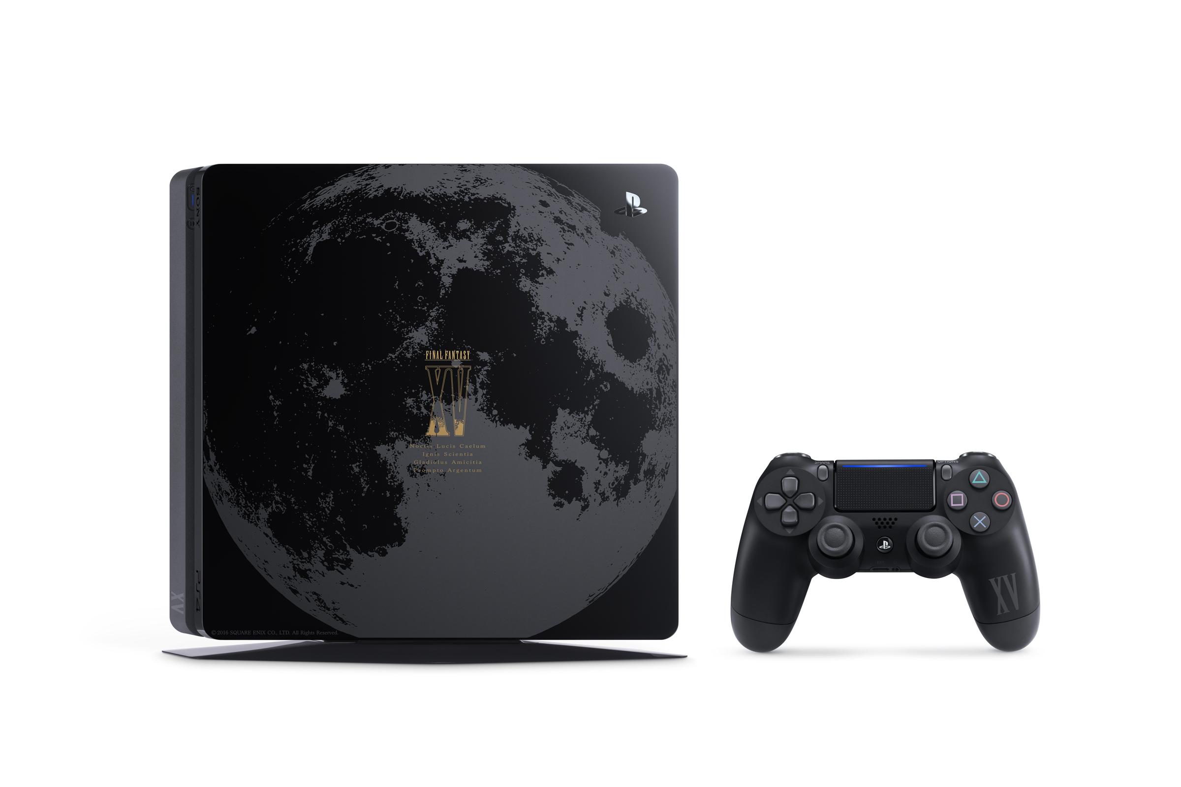 Limitovaná PS4 Slim v designu Final Fantasy XV 130601