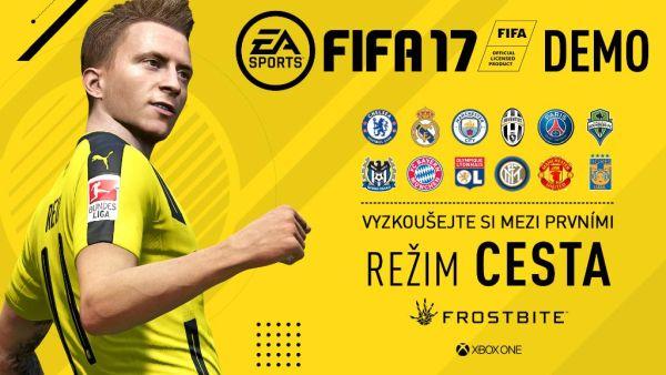 Týmy, módy a stadiony v demu FIFA 17 130619