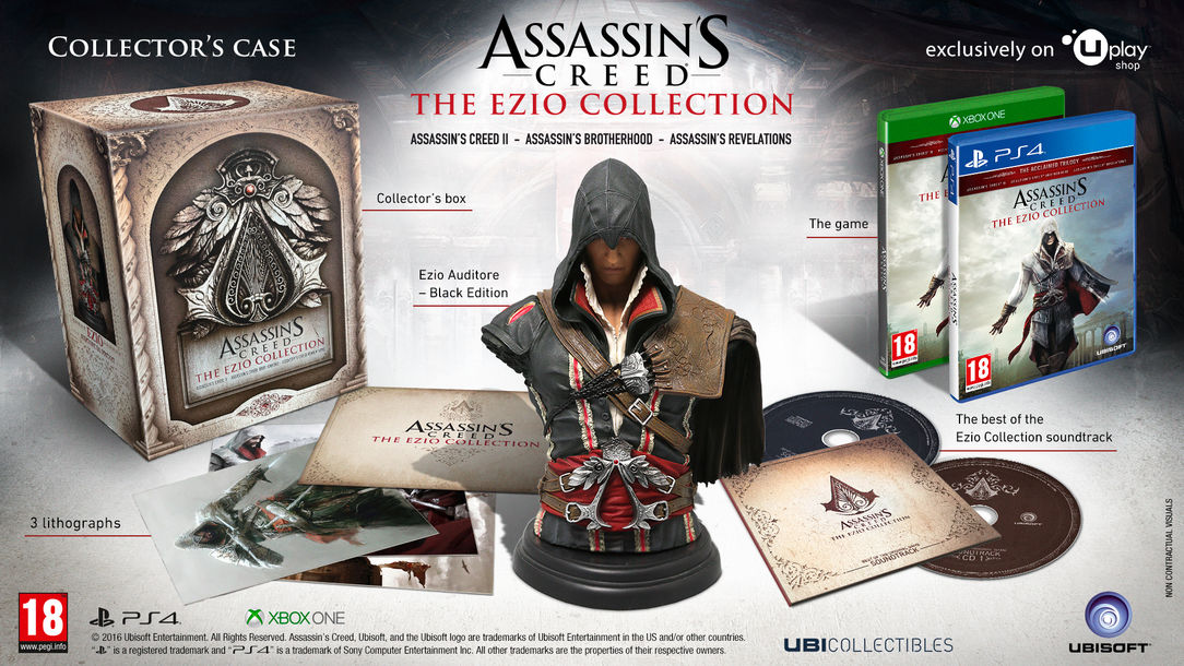 17. listopadu dostane Ezio z Assassin's Creed svou kolekci 130620