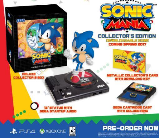 Sběratelskou edici hry Sonic Mania bude chtít každý nadšenec retra 130621