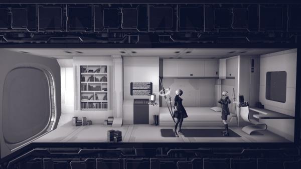 NieR: Automata v traileru z TGS 2016 130715