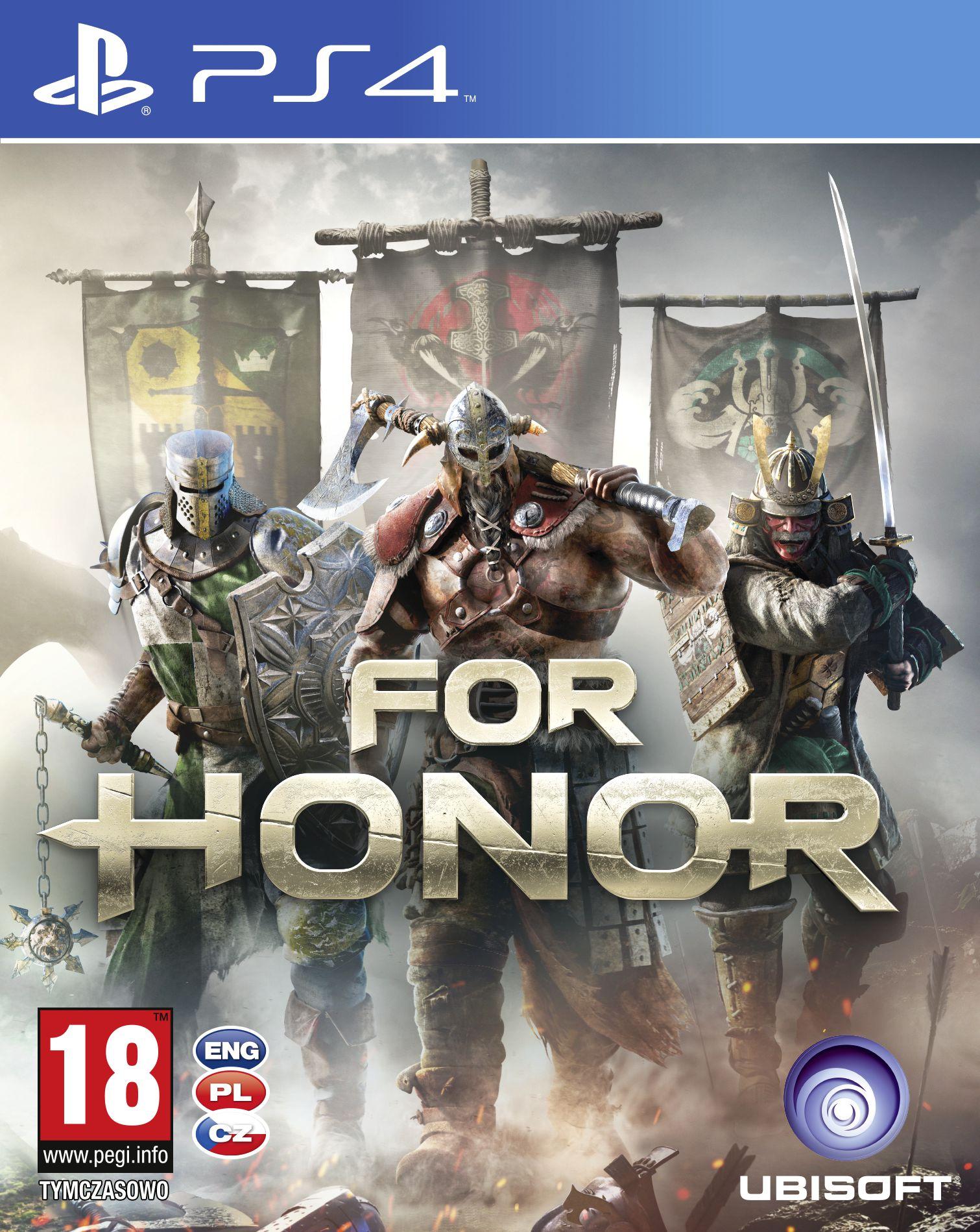 Krabička potvrzuje češtinu u všech verzí For Honor 130775