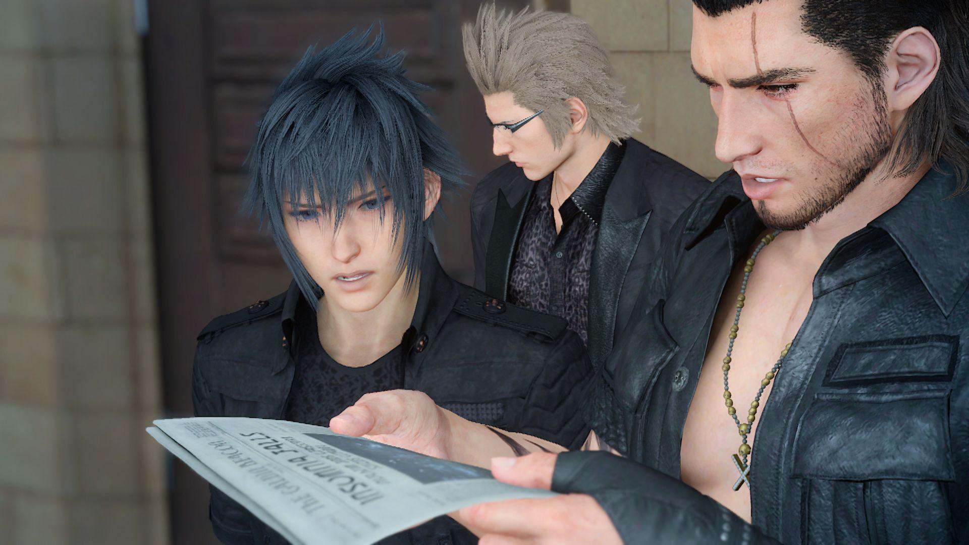 Final Fantasy XV bude podporovat PS4 Pro 130880