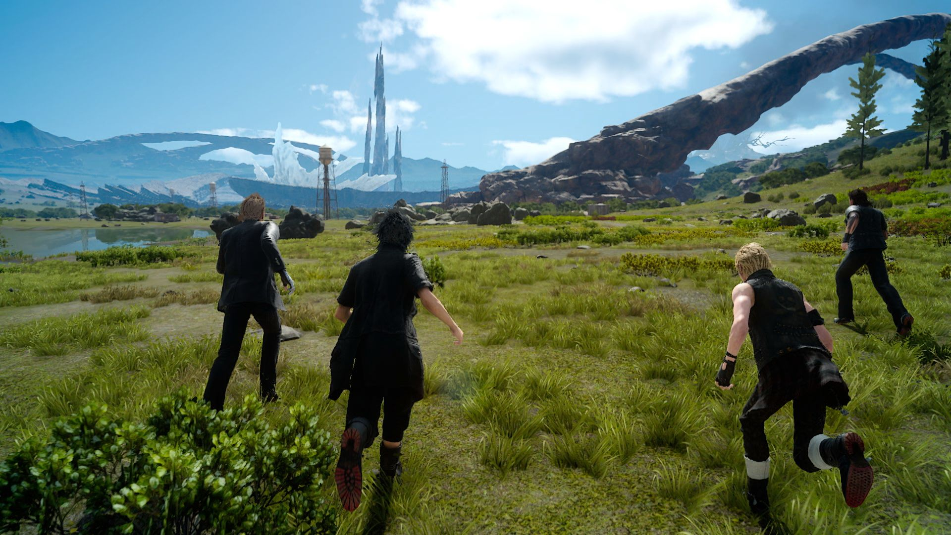 Final Fantasy XV bude podporovat PS4 Pro 130890