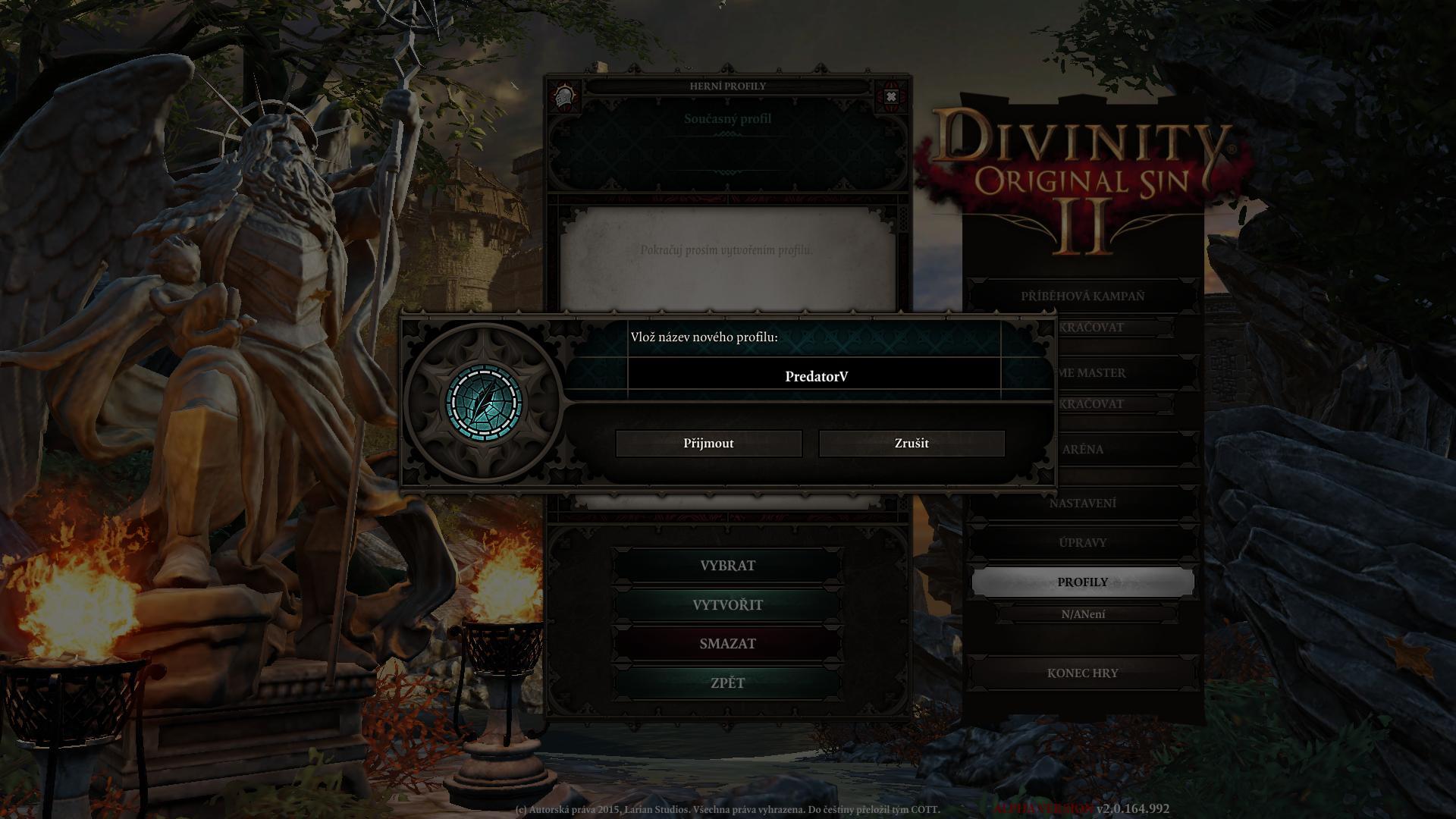 Zahájen překlad Divinity: Original Sin 2 130919