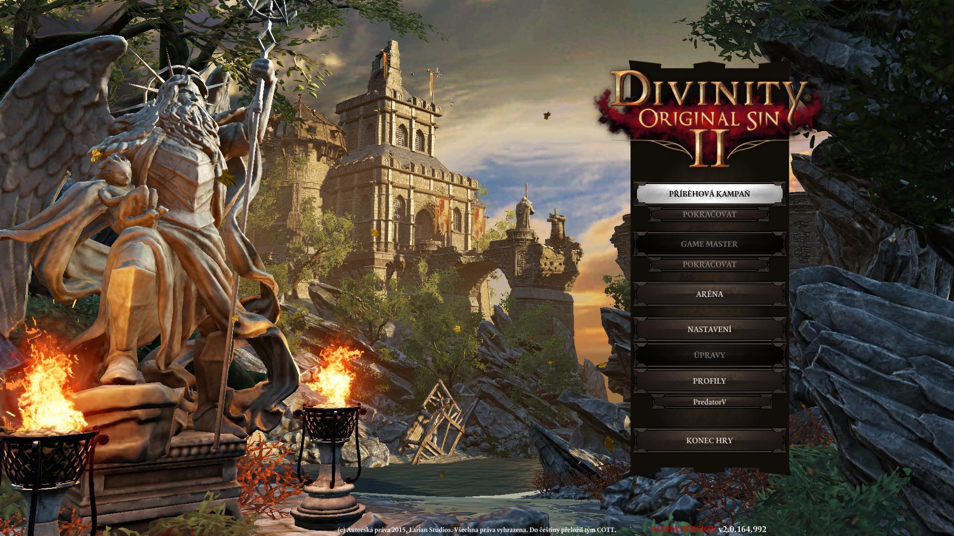 Zahájen překlad Divinity: Original Sin 2 130920