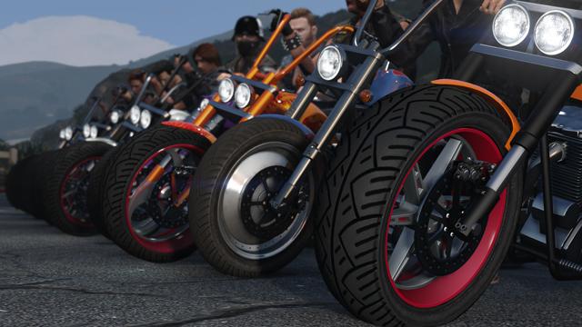 V GTA Online si budete moci založit motorkářský gang 130926