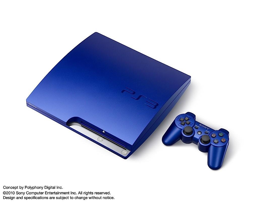 Gran Turismo 5 s modrou PS3 13093