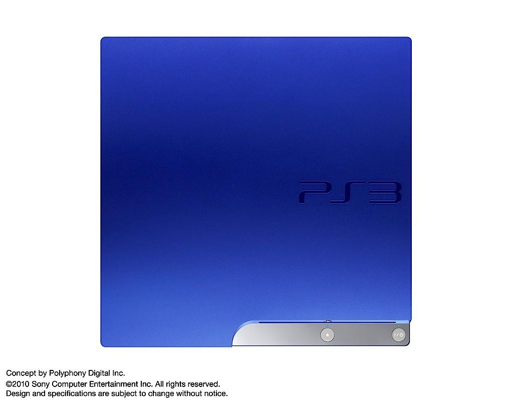 Gran Turismo 5 s modrou PS3 13094