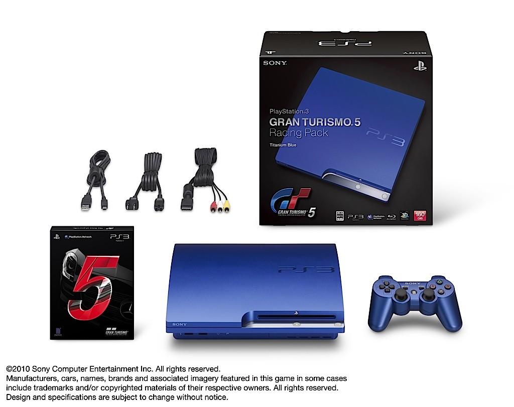 Gran Turismo 5 s modrou PS3 13096