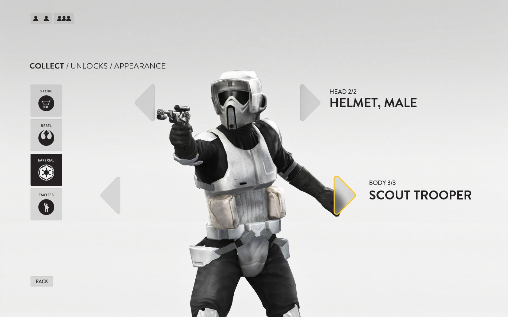 Patch Star Wars: Battlefrontu mění systém úpravy postav a Trait karet a zvyšuje maximální úroveň 131047
