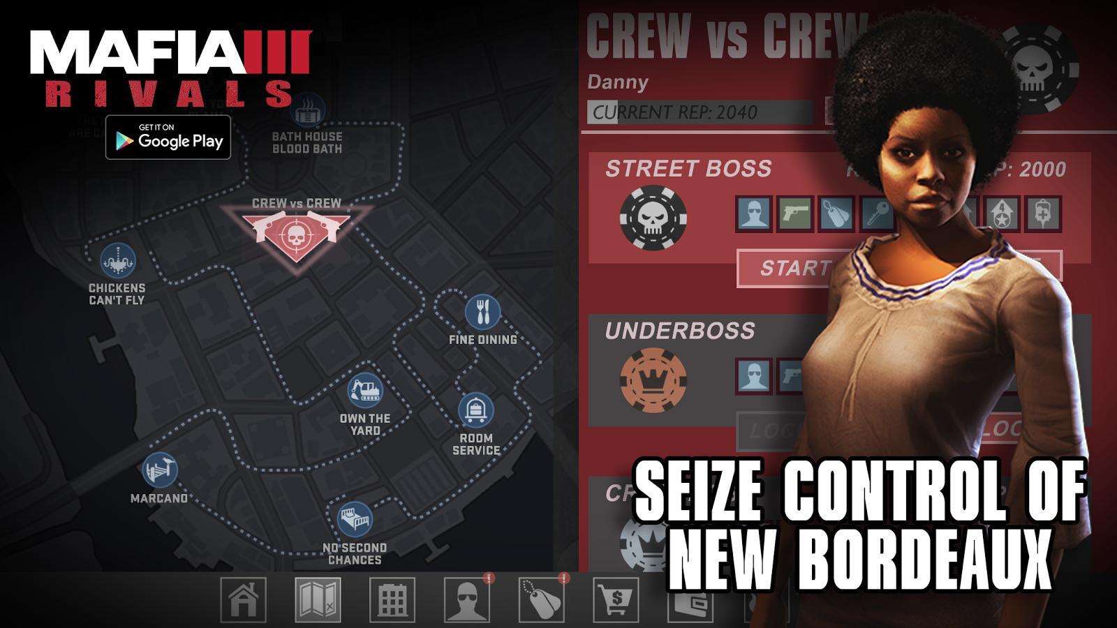 Mafii 3 doprovodí mobilní hra Rivals 131075