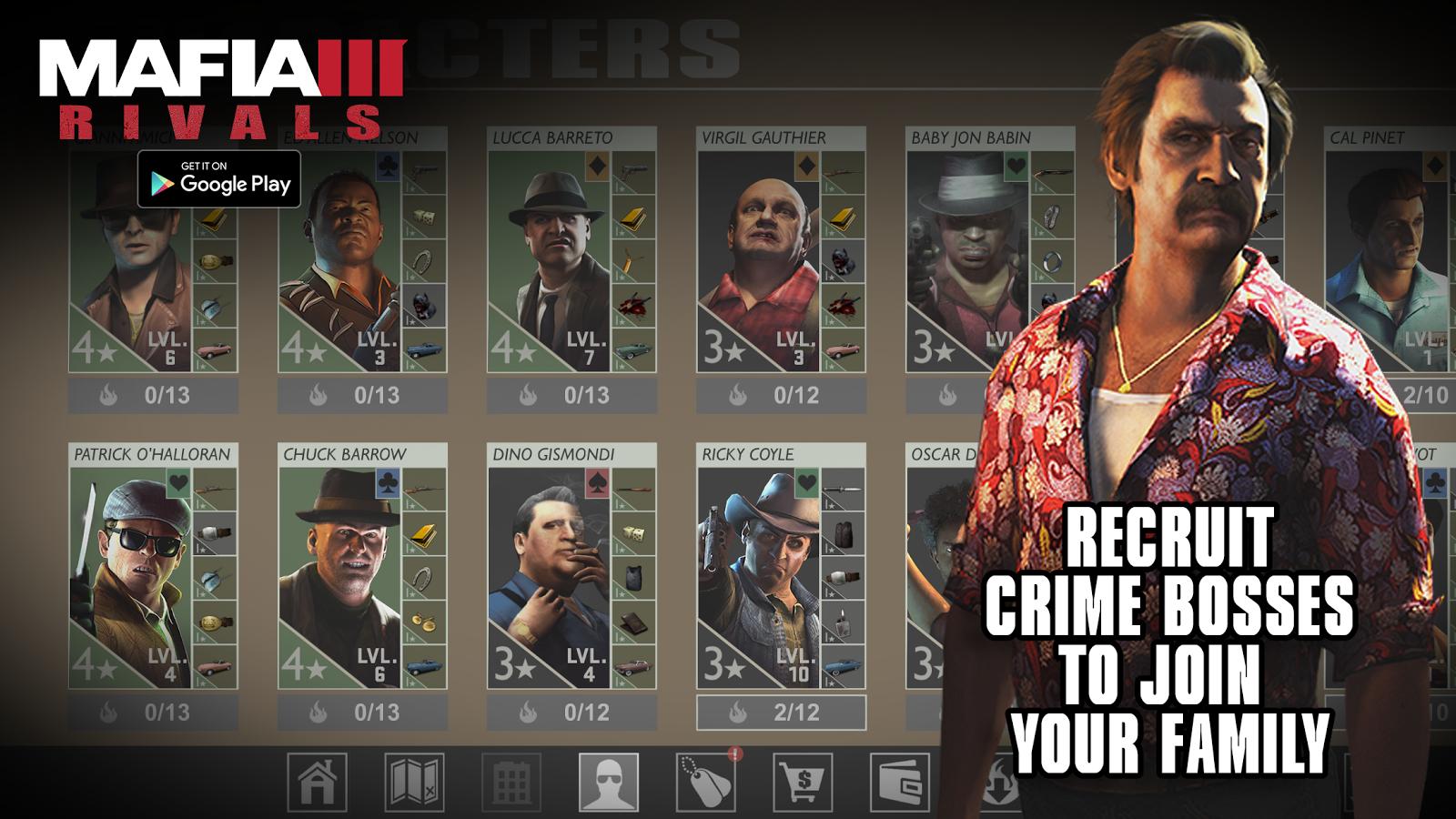 Mafii 3 doprovodí mobilní hra Rivals 131077