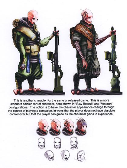 Koncepty ze zrušené vesmírné hry od Valve 131145