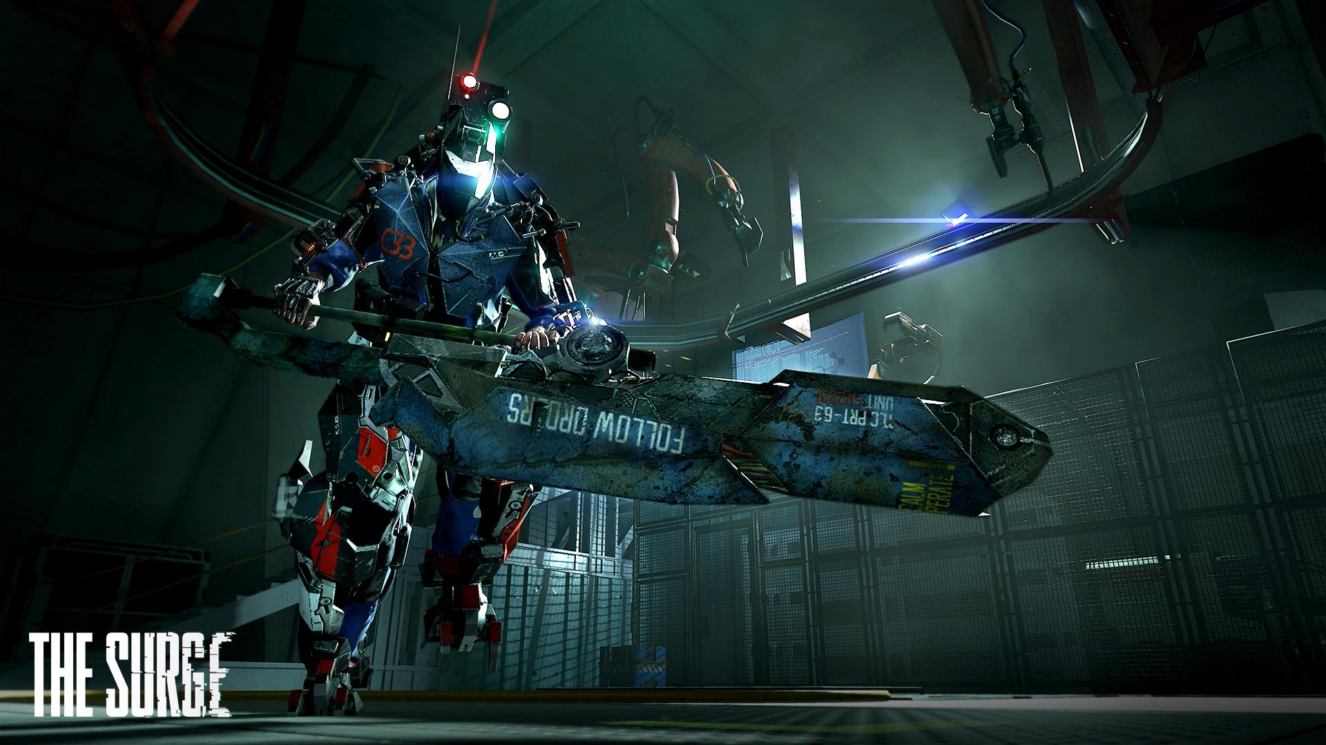CREO modular exo-armor z The Surge na screenshotech 131212