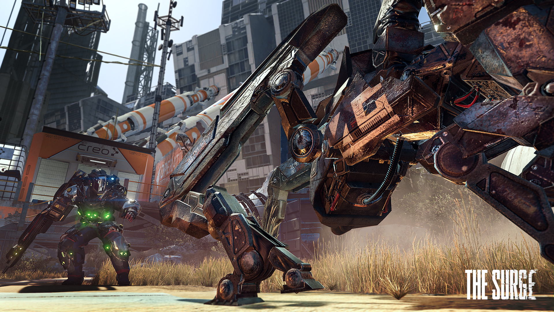 CREO modular exo-armor z The Surge na screenshotech 131214