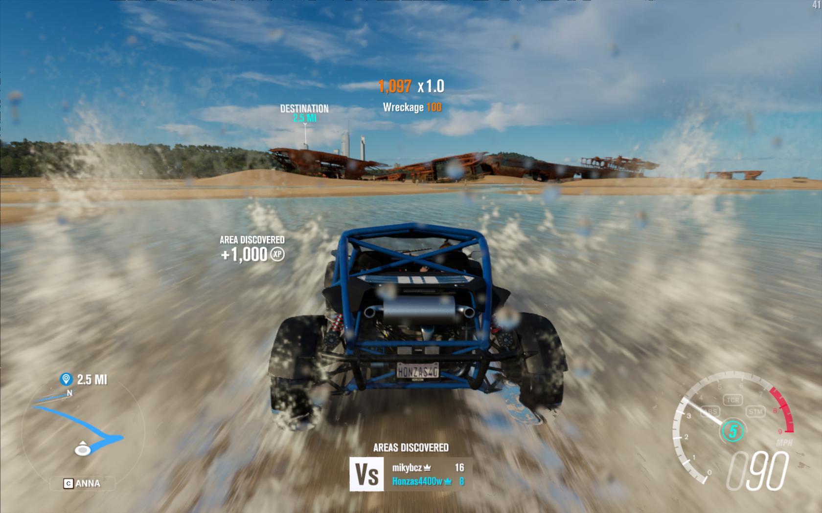 Jak funguje festival rychlosti z Forza Horizon 3 na počítačích? 131218