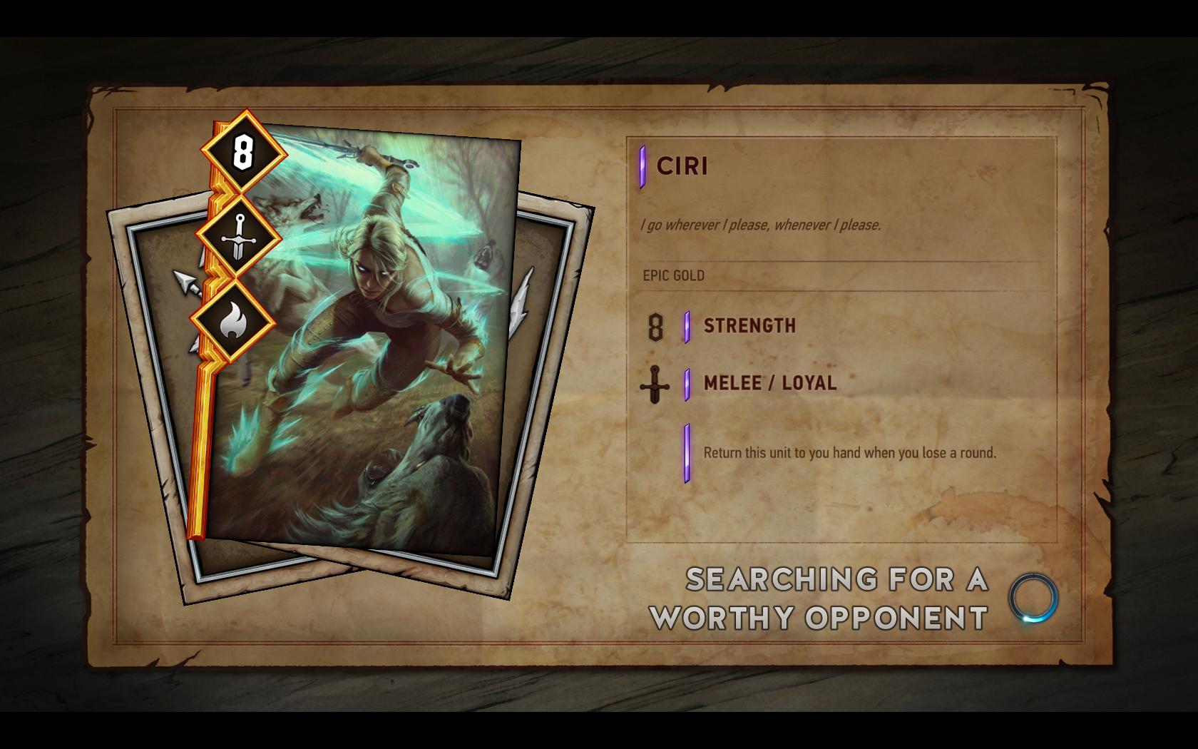 Gwent: The Witcher Card Game - letmé dojmy z hraní 131232