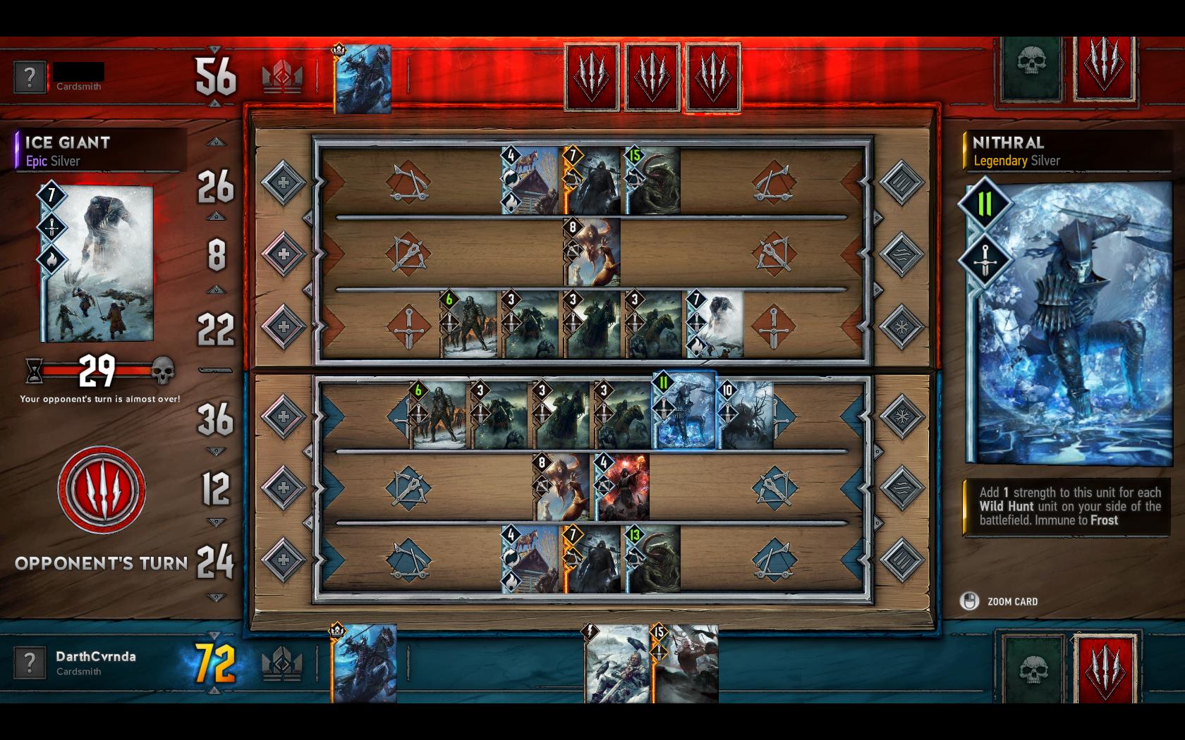 Gwent: The Witcher Card Game - letmé dojmy z hraní 131234