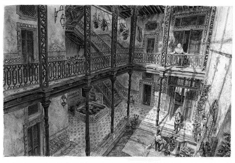 Artworky města Karnaca z Dishonored 2 131238