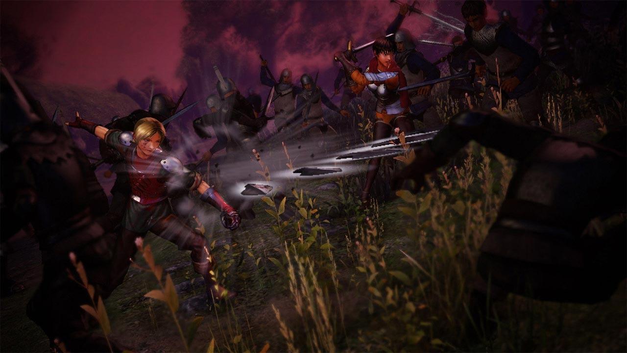Femto a sbírání Behelitů v Berserk and the Band of the Hawk 131259