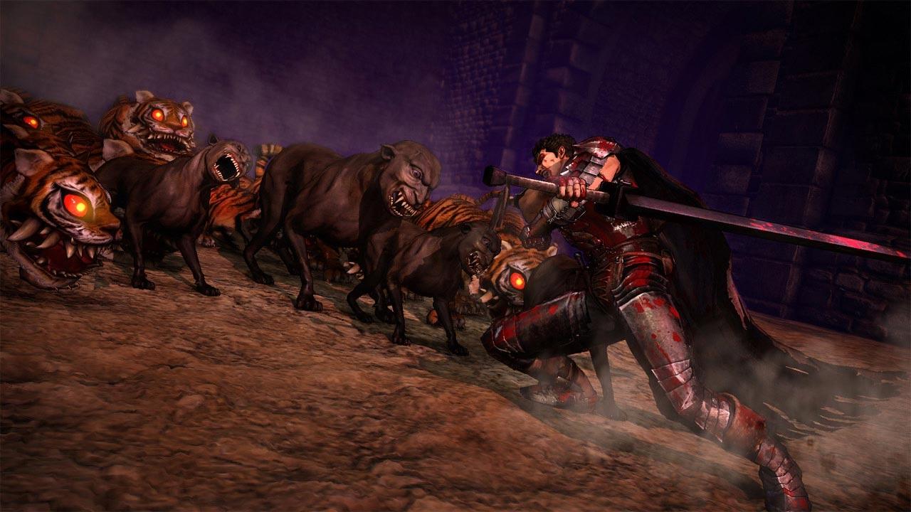 Femto a sbírání Behelitů v Berserk and the Band of the Hawk 131260