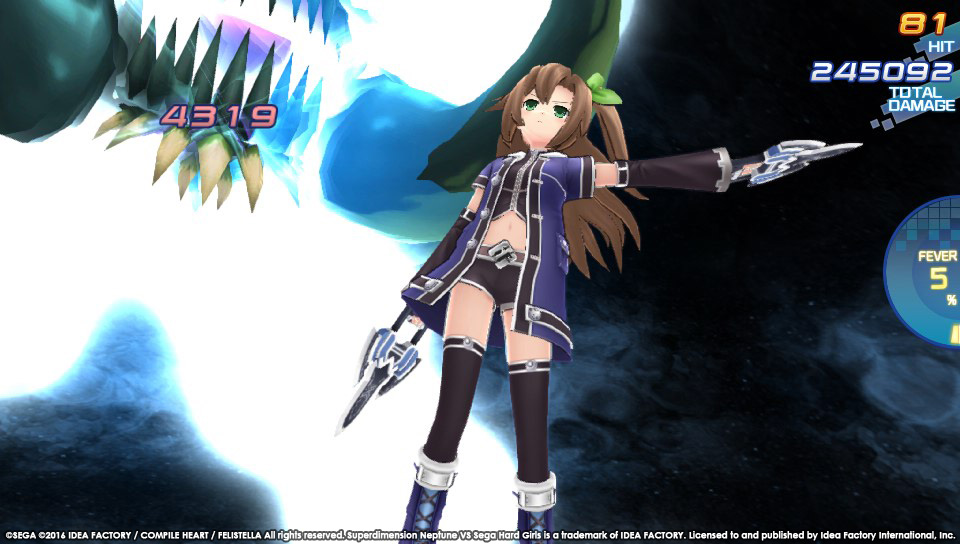 Boje a úvod ze Superdimension Neptune VS Sega Hard Girls 131352
