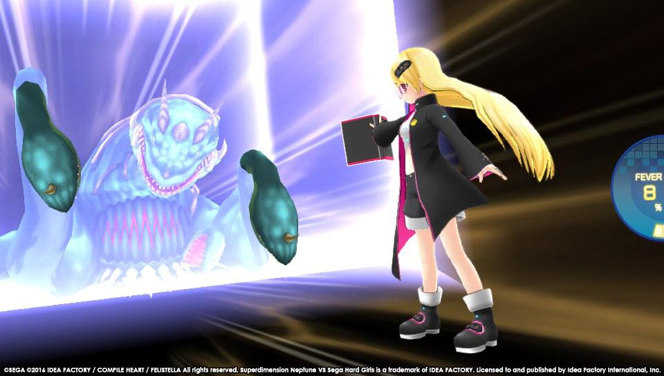 Boje a úvod ze Superdimension Neptune VS Sega Hard Girls 131353