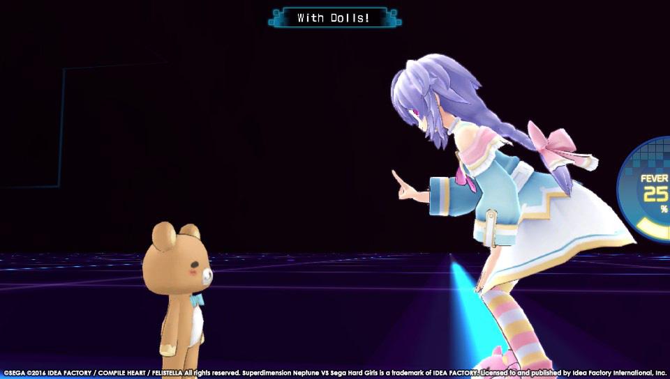 Boje a úvod ze Superdimension Neptune VS Sega Hard Girls 131355