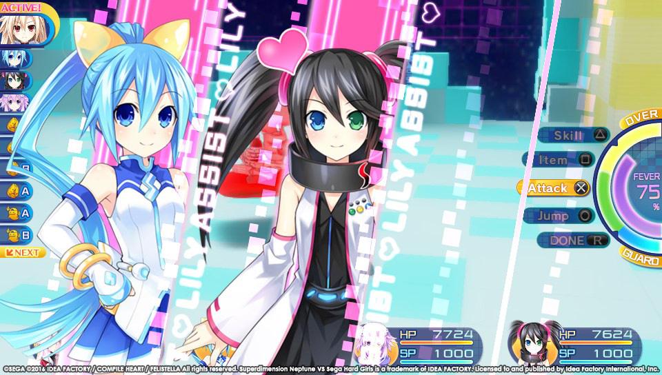 Boje a úvod ze Superdimension Neptune VS Sega Hard Girls 131360