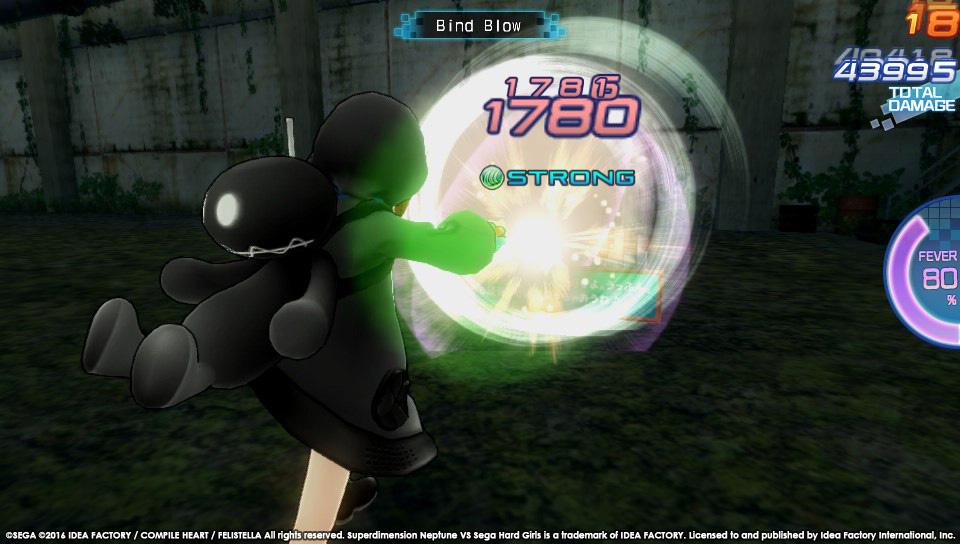 Boje a úvod ze Superdimension Neptune VS Sega Hard Girls 131364