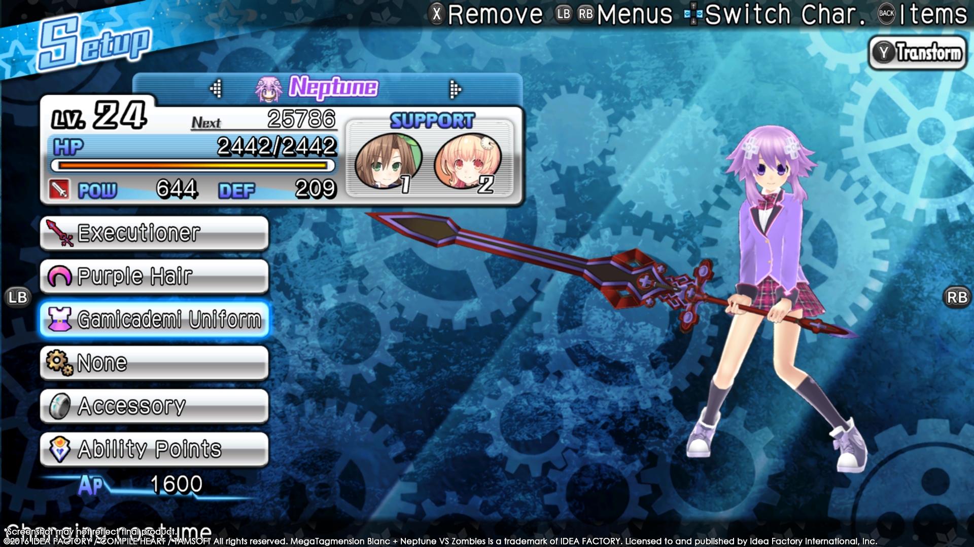 MegaTagmension Blanc + Neptune VS Zombies vychází na PC 131405