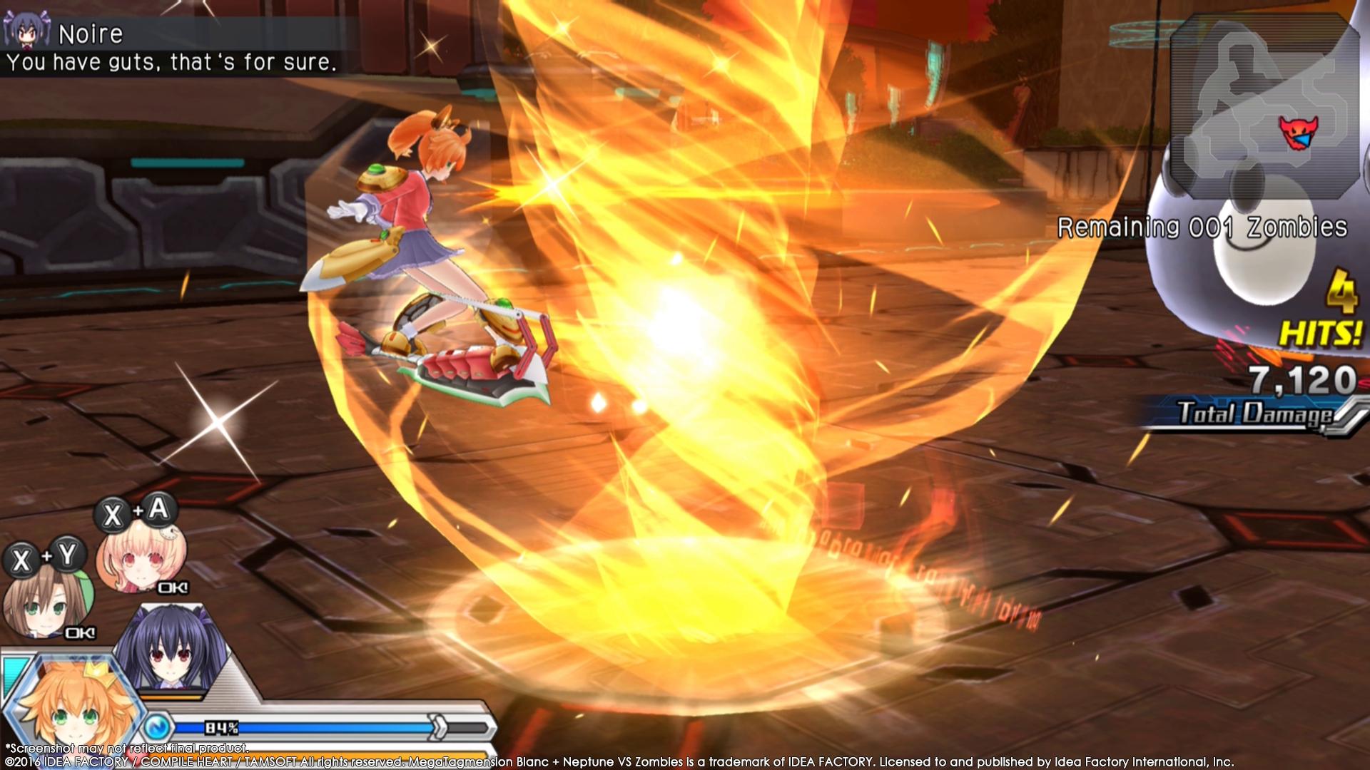MegaTagmension Blanc + Neptune VS Zombies vychází na PC 131407