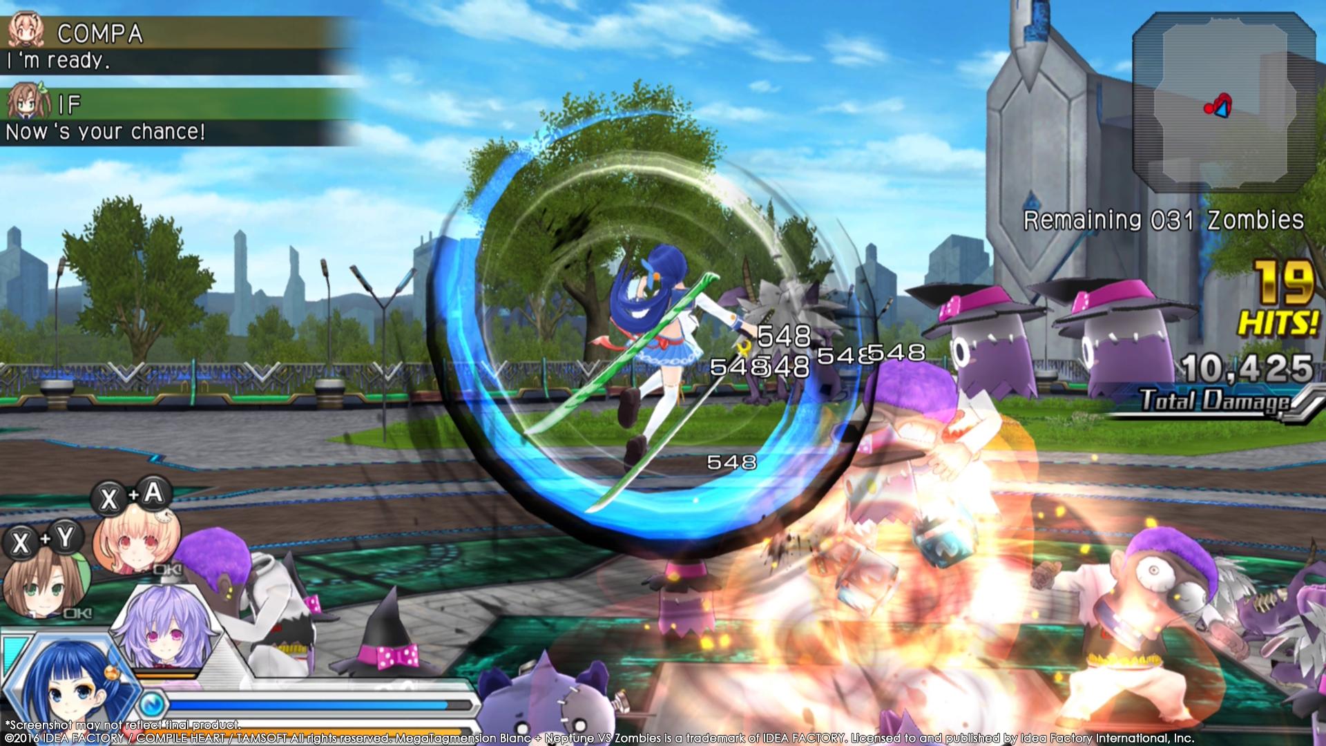MegaTagmension Blanc + Neptune VS Zombies vychází na PC 131410