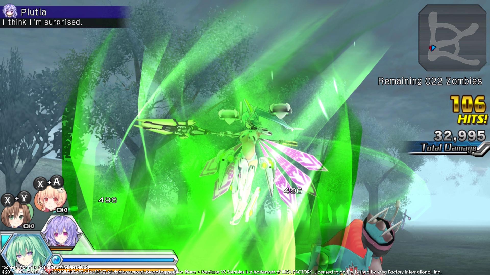 MegaTagmension Blanc + Neptune VS Zombies vychází na PC 131411