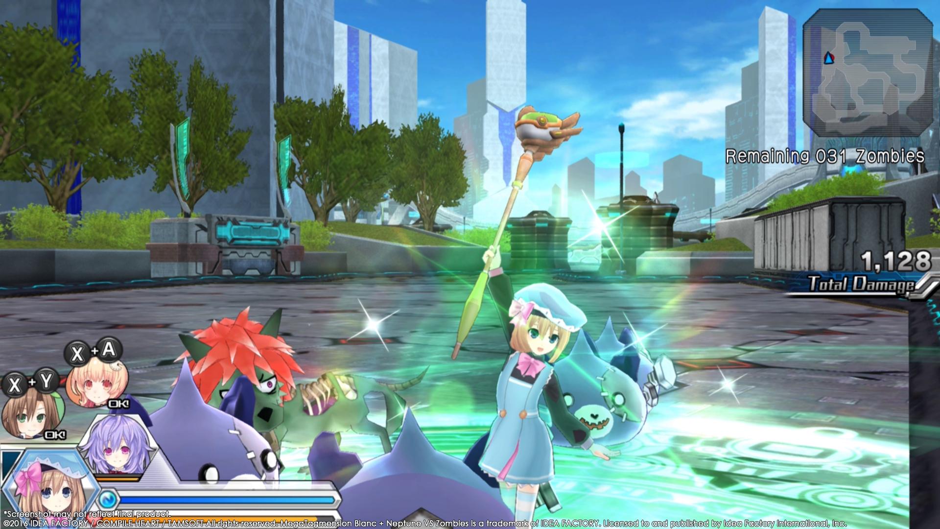 MegaTagmension Blanc + Neptune VS Zombies vychází na PC 131412