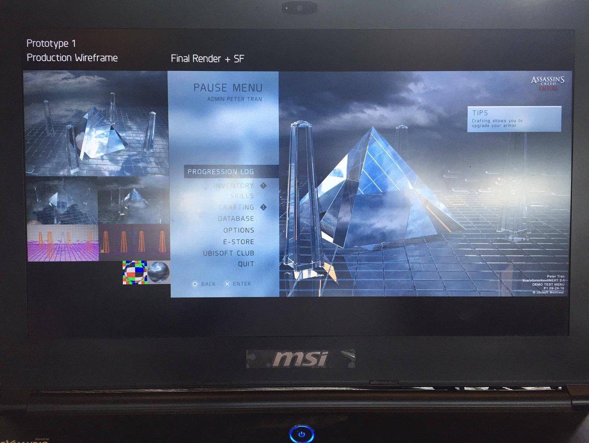 Je tohle menu příštího Assassin's Creed? 131446