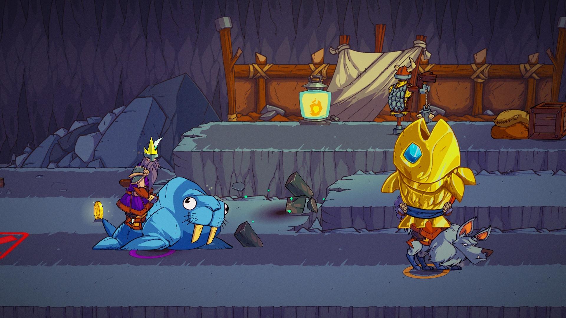 Viking Squad startuje 4. října pro PS4 a PC 131473