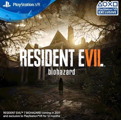 Roční exkluzivitu má PS VR u hororu Resident Evil 7 131478