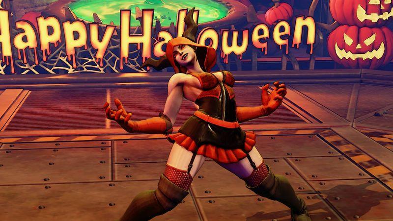 Halloweenské kostýmy do Street Fighter V 131543