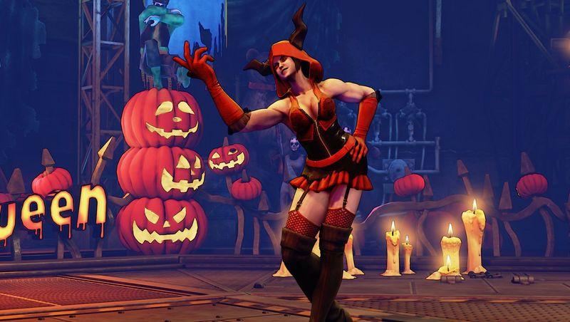Halloweenské kostýmy do Street Fighter V 131544