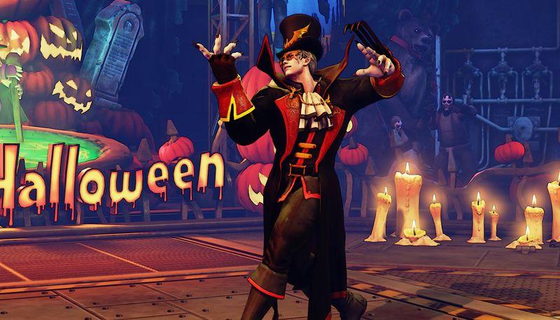 Halloweenské kostýmy do Street Fighter V 131546