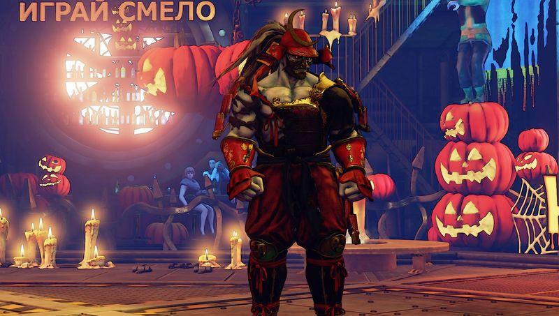 Halloweenské kostýmy do Street Fighter V 131549